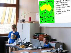 Schüler stellen Greenfield-Wettbewerb vor